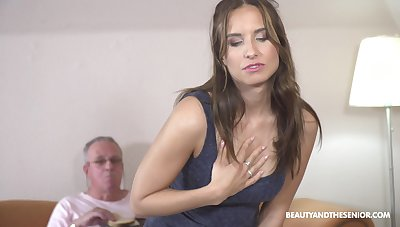 Sex from behind is the favorite sex pose of passionate Azure Angel