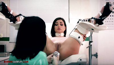 Silly nurse, Minerva is toying with Valentina Bianco, space fully they are alone in the designation
